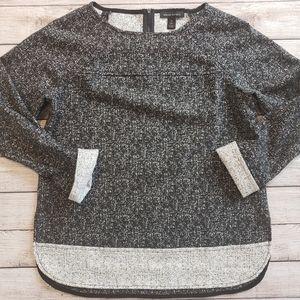Banana Republic Texture Boat Neck Sweater